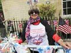 Royal wedding: Excitement builds in Windsor after fans camp outside