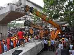 Probes underway in Varanasi flyover accident case