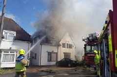 Waltham Abbey Mayor Mick Fitch's house destroyed in fire that spread over multiple homes on Honey Lane