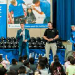 UnitedHealthcare Pro Cycling Team and Howe Avenue Elementary School Prepare for the Amgen Tour of California to Encourage Healthy, Active Lifestyles