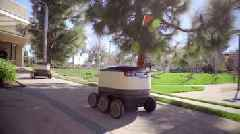 Even Food-Delivery Robots Can't Escape Human Cruelty