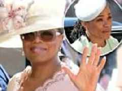 Oprah shares details from her fun day with Doria Ragland before the royal wedding