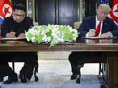 Trump and Kim Jong-un sign 'historic document': What the joint statement says in full