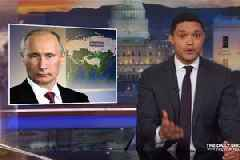 Trevor Noah Is 'a Little Turned on, but Mostly Scared' by Russia's World Cup Image Makeover (Video)