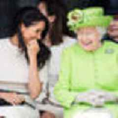 Flustered Meghan commits first royal faux-pas with Queen