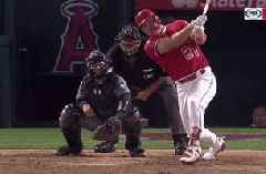 WATCH: Mike Trout clears bases with 3-run knock