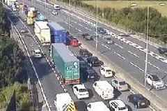 M25 Dartford Crossing traffic: rush hour drivers facing nine miles of queues
