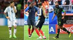 Punchless Argentina Barely Hanging on, Pogba Comes to Life at World Cup