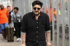 Mumford and Sons singer arrives in Aberdeen in crutches ahead of Game of Thrones stars' wedding