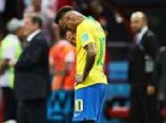 Neymar's ROLLING home! Football fans worldwide fail to hide their glee as Brazil get set to jet home
