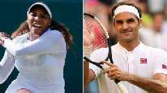 Wimbledon: Serena Williams & Roger Federer look strong for week two
