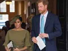 Meghan Markle looks elegant as she joins Prince Harry at Prince Louis' christening
