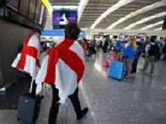 England fans take epic trek to Moscow to watch World Cup semi-final