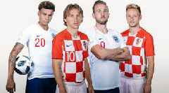LIVE: Croatia, England Vie for Place in World Cup Final vs. France