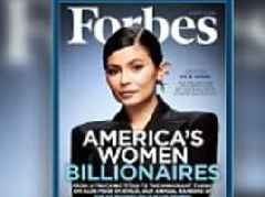 Forbes trolled online for naming Kylie Jenner 'self-made' billionaire