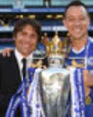 Antonio Conte: Chelsea legend John Terry in farewell tribute to sacked manager
