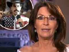 Sarah Palin walked out on Sacha Baron Cohen after he 'mocked disabled and middle-class Americans'