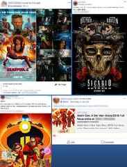 Facebook is overflowing with groups offering pirated films — and it says it won't do anything about it (FB)