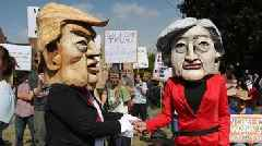 Trump's UK visit and protests