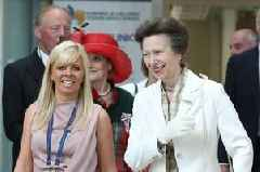 Princess Anne delivers hospital seal of approval