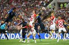 Watch the Croatia own goal that gave France a 1-0 lead in the FIFA World Cup Final