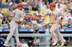 Kole Calhoun's 10th inning home run lifts Angels over Dodgers