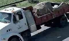 2 Women Killed as Boulder from Pickup Truck Smashes Their Car