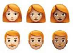 Ginger emoji are added to the iPhone for the first time to celebrate World Emoji Day