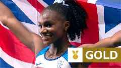 European Championships 2018: Dina Asher-Smith wins 100m in British record time