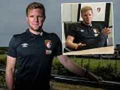 Eddie Howe is at the forefront of English football's shift in culture