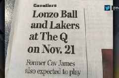 Shannon Sharpe shares his feelings about The Plain Dealer after their headline about 'Lonzo Ball and the Lakers' playing in Cleveland this fall