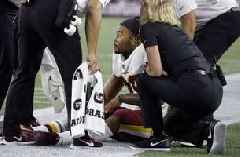 Redskins RB Derrius Guice out for season with torn ACL
