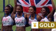 European Championships 2018: Dina Asher-Smith 'works hard' to anchor GB to relay gold