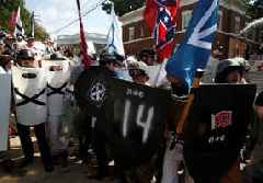 Strong feelings, but no renewed violence on Charlottesville anniversary