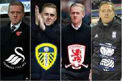 Swansea City, Leeds United, Middlesbrough and Birmingham City - the evolution of Garry Monk the manager