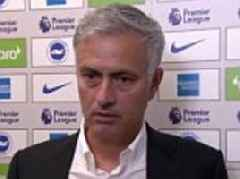 Jose Mourinho snaps at female reporter after Brighton defeat
