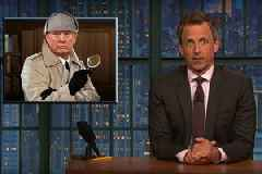 Seth Meyers: Trump 'Sounds Like Sherlock Holmes After a Concussion' Talking About NYT Op-Ed (Video)