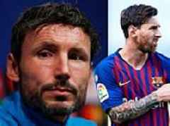Mark van Bommel wants his PSV players to stay professional against Barcelona