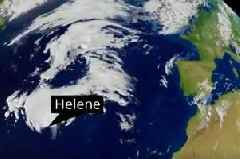 Storm Helene to tear down trees with 70mph winds – after 27C heatwave