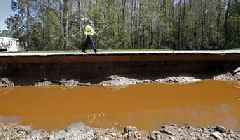 Florence's Floodwaters Contain Sewage, Hog Waste, Coal Ash, and Farming Pollution