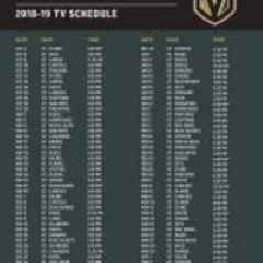 AT&T SportsNet Announces Vegas Golden Knights Broadcast Schedule and New Insider Magazine Show for 2018-19 Season