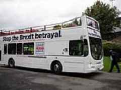Bus tours to the Continent could be hit by no-deal Brexit