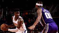 74af9bbb0a7 DeAndre Ayton Wore Nike Shoes With Taped Over Logo In Preseason ...