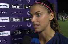 Alex Morgan on FIFA Women's World Cup qualifying win: We've been looking forward to this for two years.