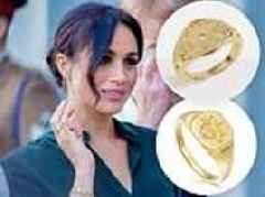 Where to buy a lookalike of Meghan Markle's signet £85 Missoma ring for just £5