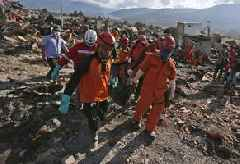 Indonesian Officials Say 5,000 More Earthquake, Tsunami Victims May Be Buried In Mud