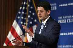 Ryan Promises 'Big Fight' Over Border Wall After Elections