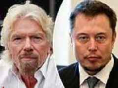 'Learn to delegate and get some sleep': Richard Branson issues stark warning to rival Elon Musk