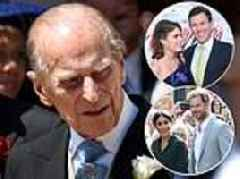 Prince Philip 'will decide on the MORNING' whether he attends Princess Eugenie's wedding