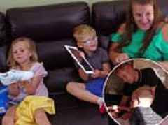 Skint family go on rare shopping spree Rich House Poor House to treat children iPads and clothes